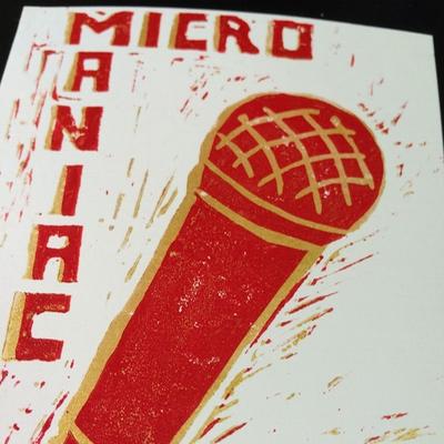 Micromaniac Linolschnitt